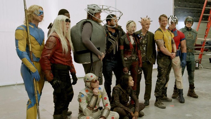 New images from DCs new film The Suicide Squad shared