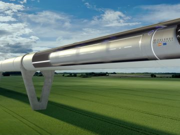 Paris Berlin 1 hour by Elon Musks Hyperloop train