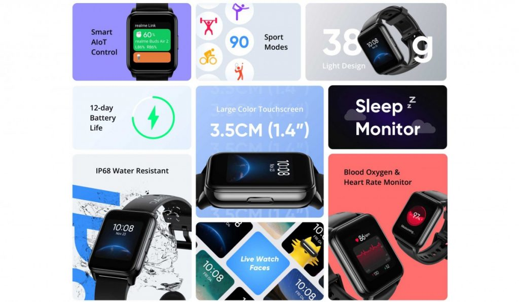Realme Watch 2 was announced with its stylish design Heres the price 2