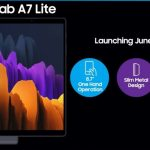 Samsung Galaxy Tab A7 Lite appeared on the official site