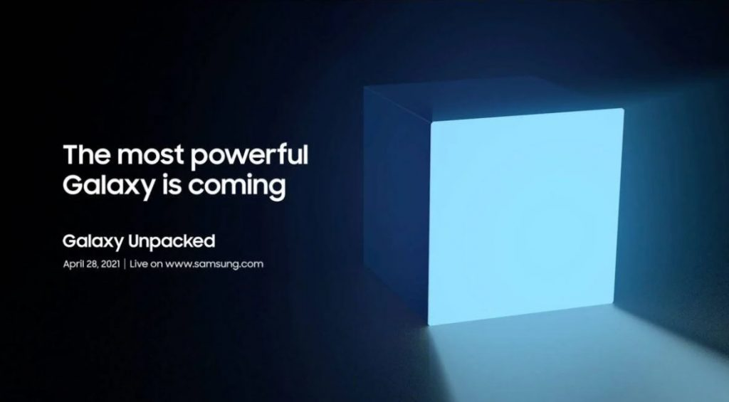 Samsung announces new Galaxy Unpacked event