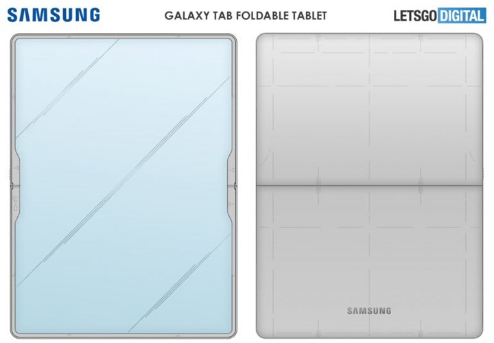 Samsung is working on a foldable tablet model 1