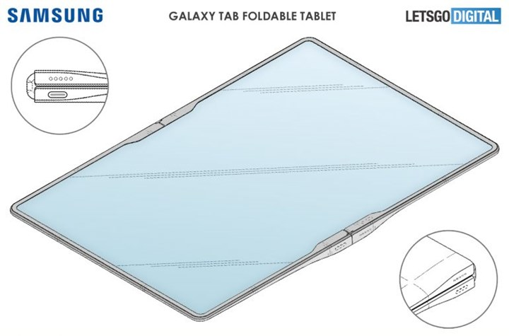 Samsung is working on a foldable tablet model 2