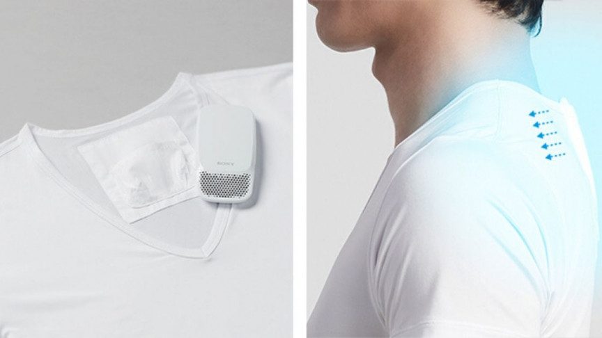 Sony Launches Wearable Air conditioner Reon Pocket 2 1