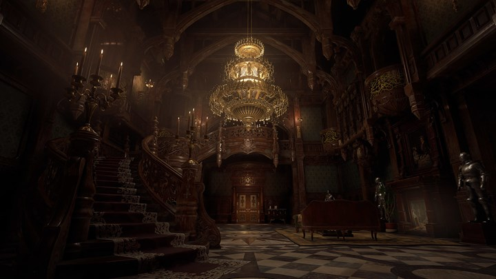 The PS5 version of Resident Evil Village will have performance and graphics modes map of the game shared
