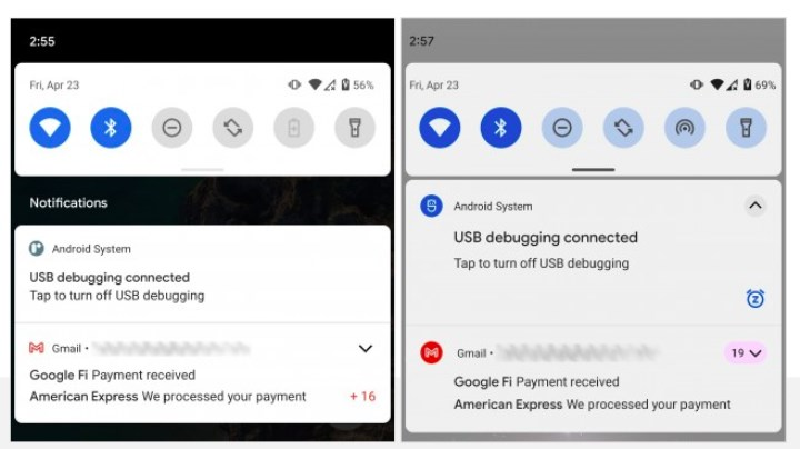 The design of notifications will change on Android 12 1