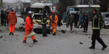The horrific attack on Afghanistan Theres a lot of dead.