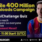 The mobile version of eFootball PES 2021 has been downloaded more than 400 million times