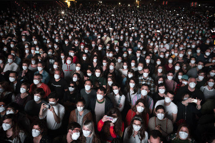The results of the 5 thousand person concert experiment in Spain have been announced Zero coronavirus cases 1