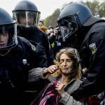 The streets of Germany are confused More than 150 detentions...