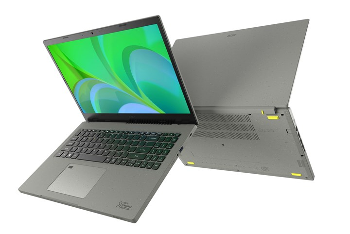 Acer Aspire Vero laptop made of recycled plastic unveiled