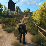 An interesting detail about Witcher 3 graphics update
