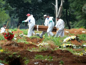 Brazil sets new record for COVID 19 deaths