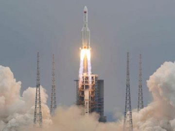 Chinas rocket is out of control falling to Earth