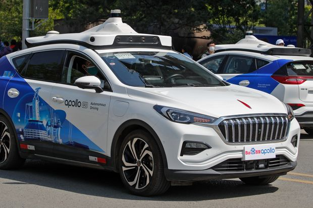 Driverless robotics service launched in Beijing China 1