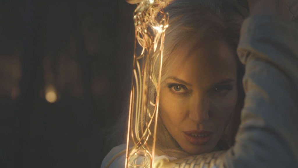 First Images From Angelina Jolies Eternals