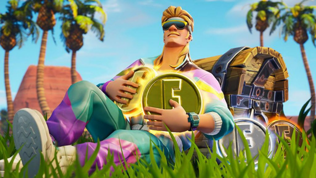 Fortnite blown lips with two years of earnings