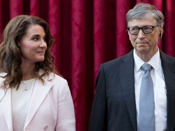 Gates couples divorce revealed Melinda Gates fled to 130000 a night island
