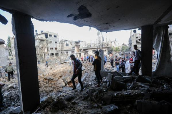 He continues his brutal Israeli attacks Photos from the area are horrific 7