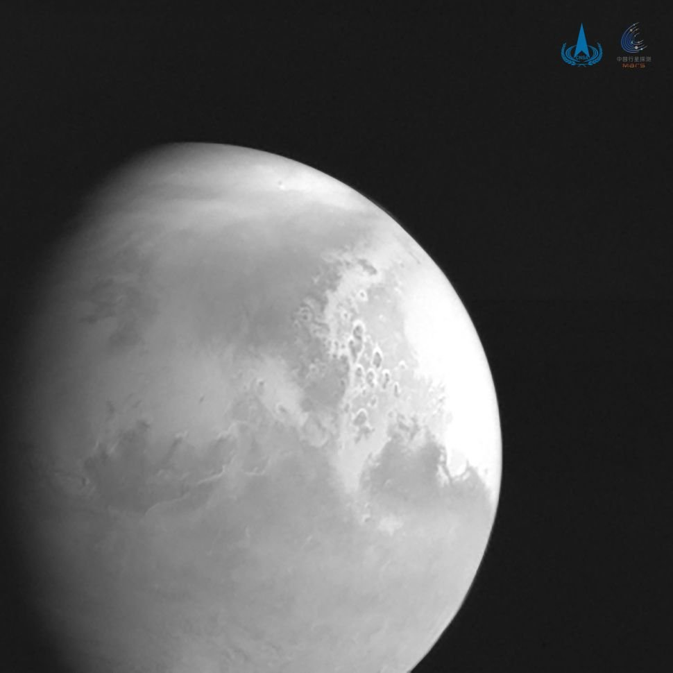 Historic step from China First time theyve landed a spacecraft on Mars 1
