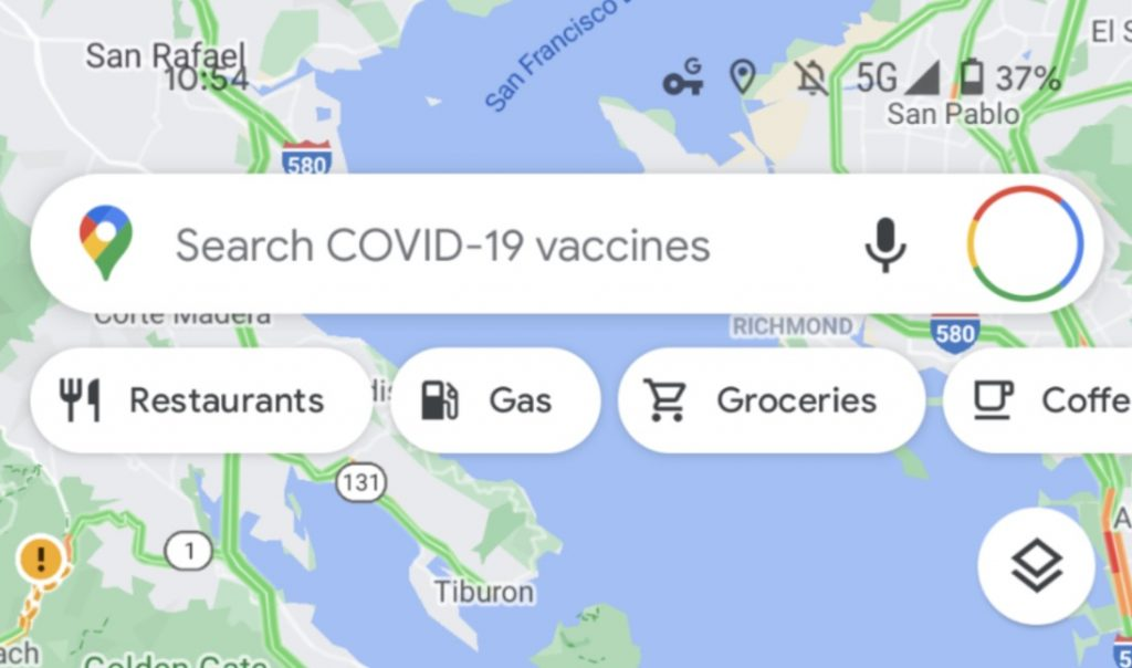 Important COVID 19 vaccine update to Google Maps 1
