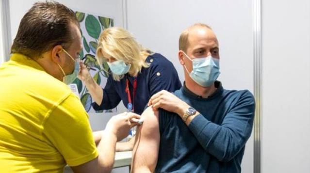 In England members of the Royal family are getting vaccinated Prince William also got the coronavirus vaccine
