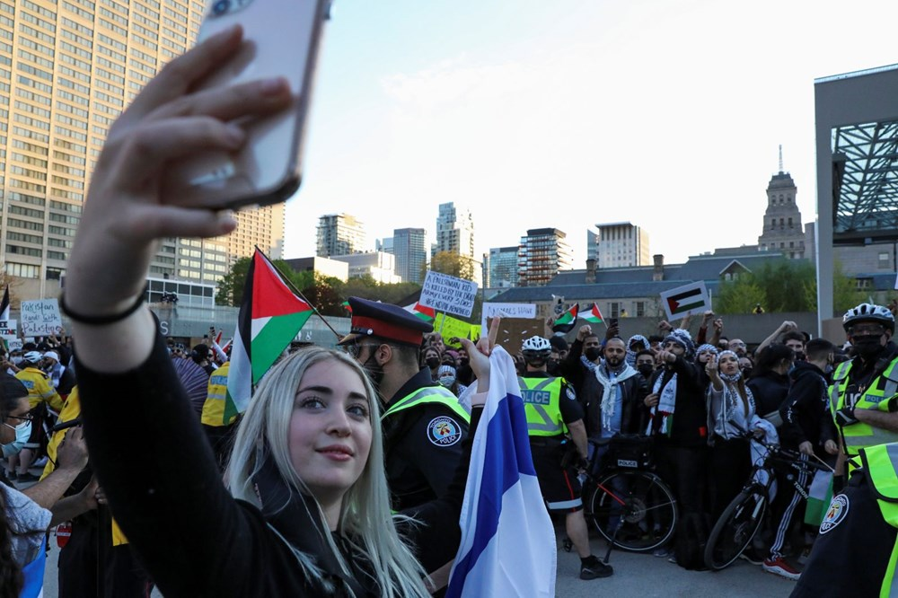 Israeli attacks on Palestinians protested in Canada 3