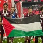 Leicester City players support Palestine in FA Cup