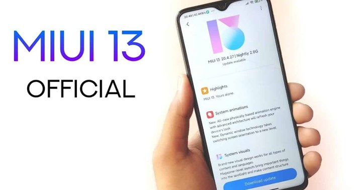 List of smartphones that will receive the MIUI 13 update appeared