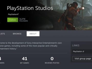 More PlayStation games will come to Steam according to Steams PlayStation page