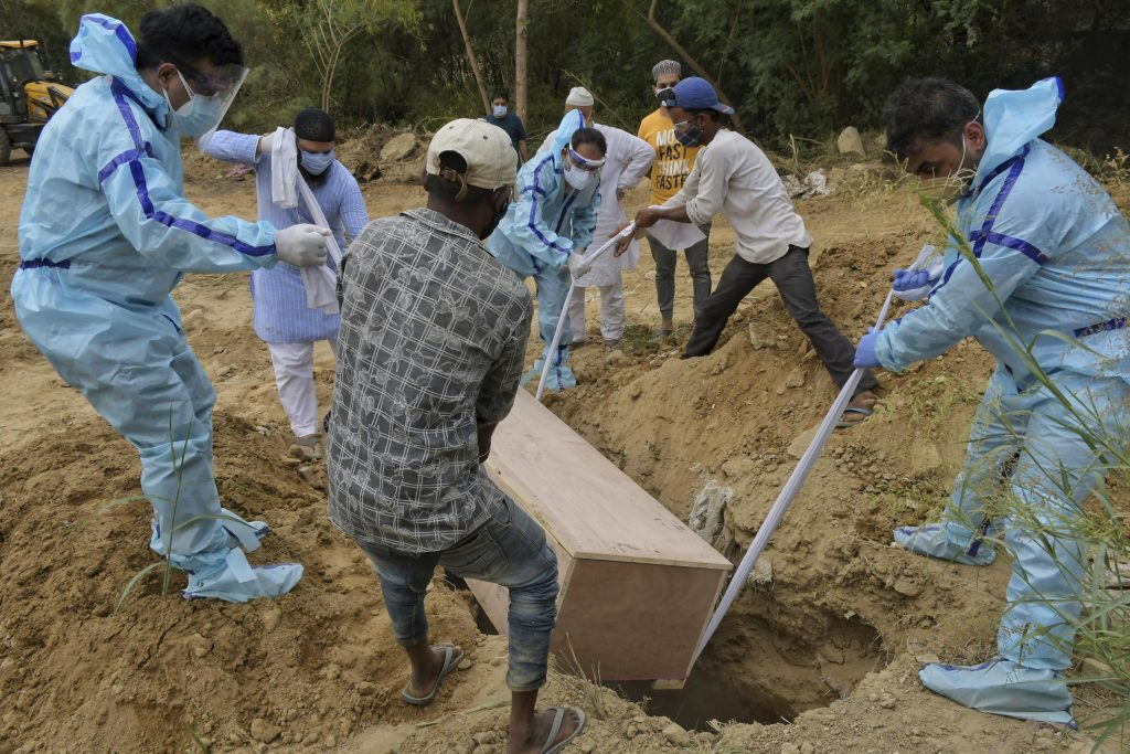 More than 3000 people died in India in one day