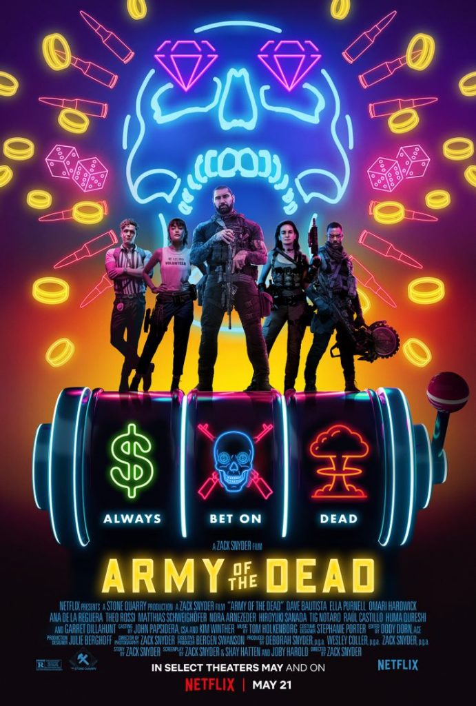 Netflix shared Here are the new scenes from Army of the Dead 1