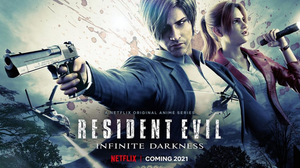 Netflixs anime series Resident Evil Infinite Darknesss release date has been announced