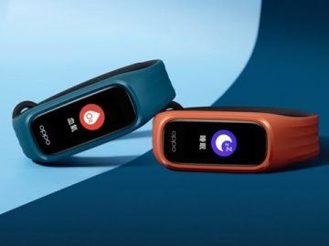 Oppo unveils new smart wristband and full wireless headset