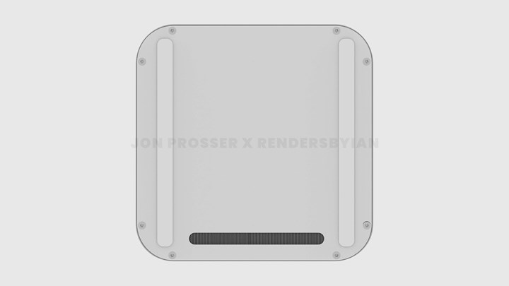 Possible design and some features of the new Mac mini with M1X processor revealed 3