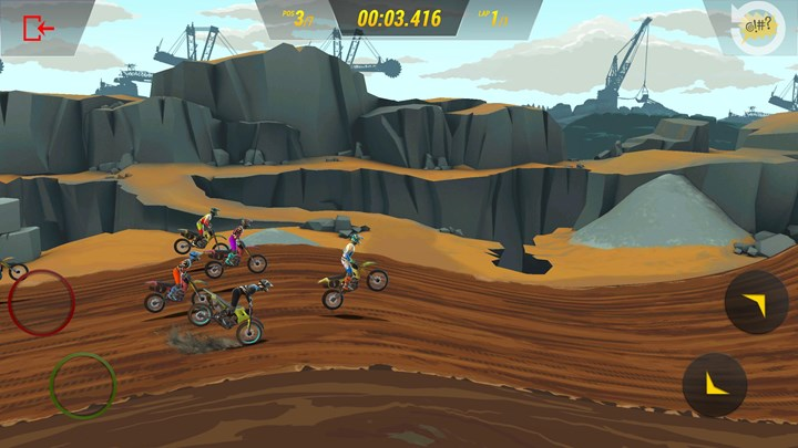 Racing game Mad Skills Motocross 3 is coming to mobile devices