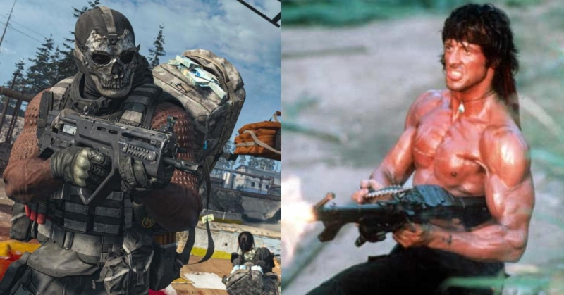 Rambo Character Will Be Added to Call of Duty Warzone Soon