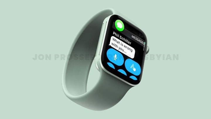 Render images showing the possible design of the Apple Watch Series 7 have been released 1