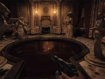 Resident Evil Village Hall of Ablution Statues Puzzle Solution