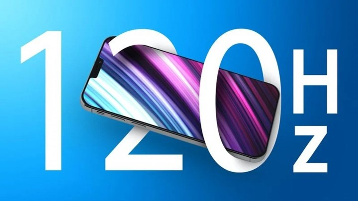 Samsung will be the sole supplier of 120 Hz iPhone 13 screens