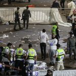 Stampede at Eid celebration site in northern Israel 44 dead 103 injured