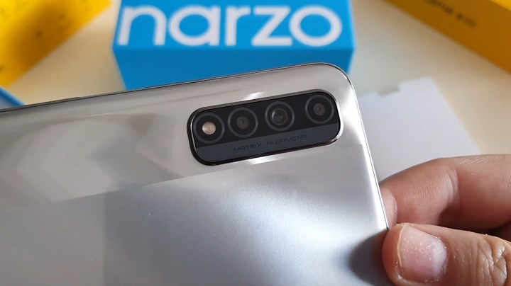 Technical specifications and images of Realme Narzo 30 revealed 3
