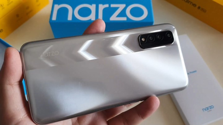 Technical specifications and images of Realme Narzo 30 revealed