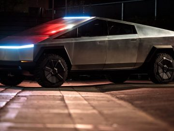 The Cybertruck prototype is in New York this weekend