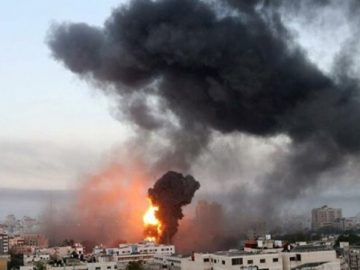 The number of Palestinians killed in Israeli attacks rises to 181