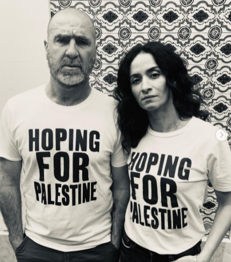 World renowned former French footballer Eric Cantona backs campaign for Palestine 1
