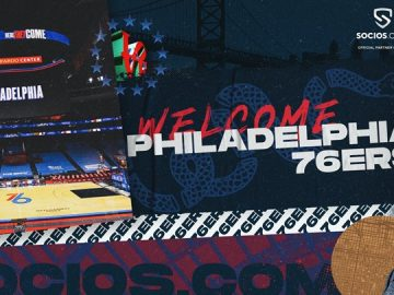 Socios signs with an NBA team for the first time