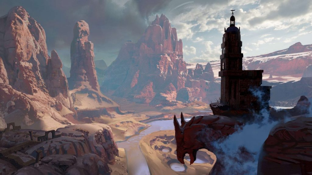 Another image from the new game of the popular game series Dragon Age 11