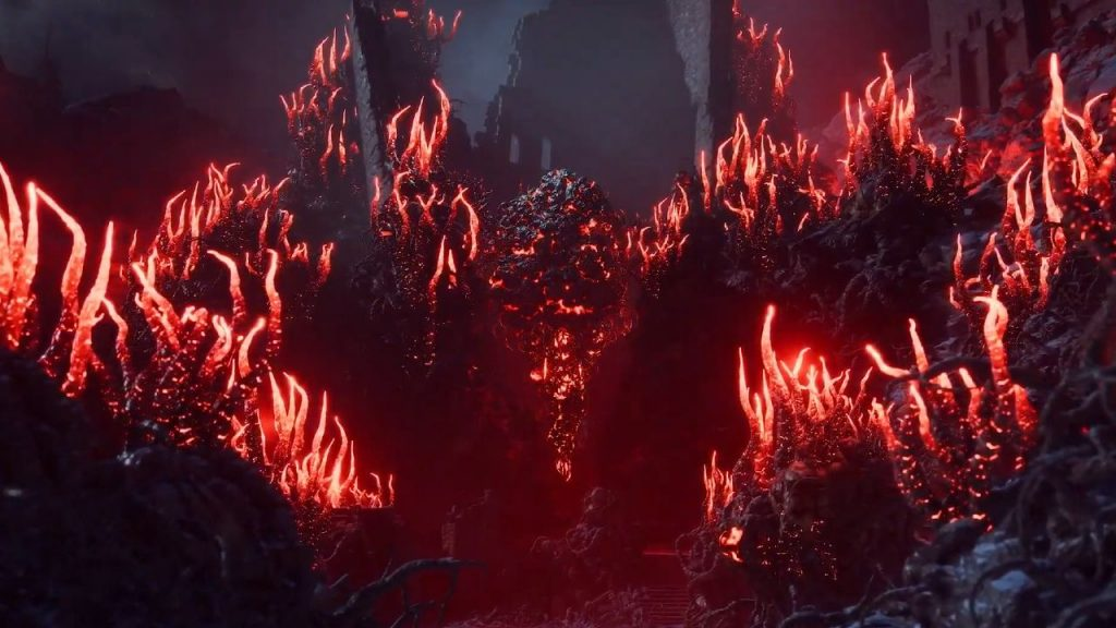 Another image from the new game of the popular game series Dragon Age 4