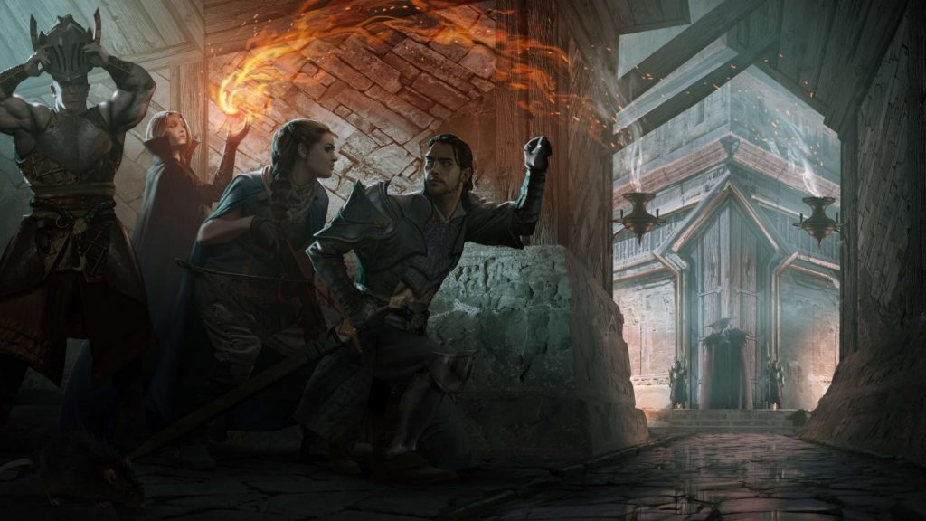 Another image from the new game of the popular game series Dragon Age 8